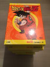 Dragonball Z DVD Collection Box 1-10 Komplett Son Goku Folgen 1-154