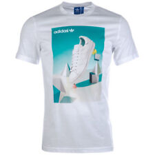 Magliette da uomo adidas bianco taglia XS