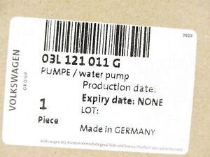 Volkswagen Audi 03L-121-011-G Water Pump Genuine OEM New