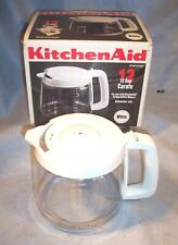 NEW KITCHENAID 12 Cup Coffee Maker Brewer Replacement Glass Carafe KCM12CWH