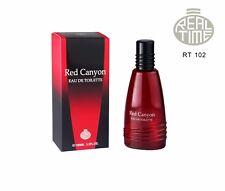 Männer Real Time Man  Parfum Red Canyon EDT 100 ml Eau de Toilette Parfüm Mann