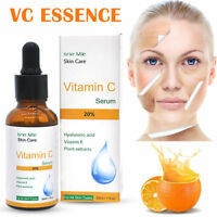 Pure Vitamin C Hyaluronic Acid Serum 20% for Face BEST Anti Aging 30 ML-AW
