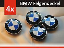***2017 Für Bmw 4x68mm Blau Weiss Felgen Logo Radkappen Emblem Nabenkappen