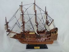 """Sovereign Of The Seas 19"""" Wooden English War Ship L50 Free Shipping"""