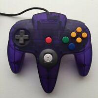 Nintendo 64 N64 Controller - Funtastic Grape RARE! - AUTHENTIC   TESTED!