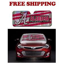 NCAA Alabama Crimson Tide Car Truck Windshield Folding Auto Sun Shade Standard S