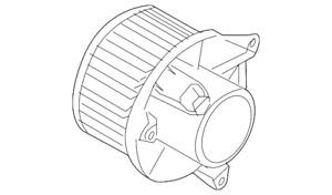OEM NEW 2012-2015 Genuine Nissan Armada Rear Blower Motor 27375-ZC30A