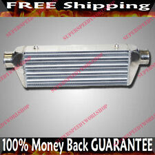 """EMUSA Universal Intercooler 27x7x4  3"""" INLET AND OUTLET"""