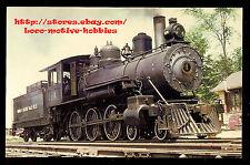 LMH Postcard  WARREN & OUACHITA VALLEY Rr 4-6-0 Steam Loco W&OV #1 AR Short LIne