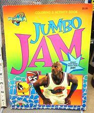 SPACE JAM beat-up coloring book Michael Jordan basketball Looney Tunes 1996