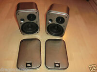 2x JBL Control 1G Lautsprecher / Boxen, Silber, Made in Japan, 2 Jahre Garantie