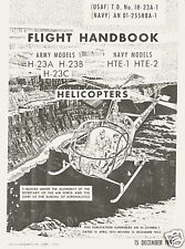 HILLER H-23 RAVEN (MODEL 12) HELICOPTER FLIGHT HANDBOOK