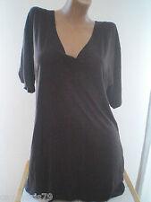 camiseta mujer larga Tallas L / II  ó  XL / III manga corta NUEVA