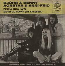 "ABBA - BJÖRN & BENNY, AGNETHA & ANNI-FRID: People Need Love (´72 / scarce 7"")"