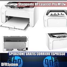 STAMPANTE LASER HP-M12W HP LaserJet Pro MONOCROMATICA M12w BIANCO E NERO OFFERTA