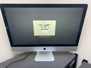 APPLE IMAC LATE 2012 27 INCH A1419 i5 2.9GHz QUAD 16GB RAM 1TB HD DAMAGED GLASS