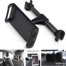 "Universal 360° Car Headrest Mount Holder Black For iPad Most 4""-11"" Tablets"