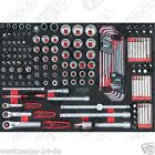 KS Tools BBA 1/4+3/8 + 1/2 INSIEME Zoccolo 160tlg 1/1 systemeinlage 711.0160