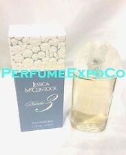Jessica McClintock Number #3 for Women 1.7oz Eau De Parfum Spray *VINTAGE* (HC28