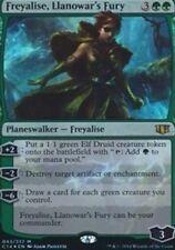 OVERSIZED Freyalise, Llanowar's Fury (Commander 2014) Green Mythic Rare OVERSIZE