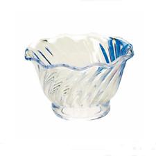 Plastic Dessert Dish 5 oz.- 1 doz