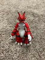"Bandai Digimon Growlmon Action  5.5"" Figure P76"