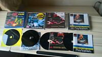 PS1 games bundle Riot Smackdown! 2 Victory Boxing Championship WCW Mayhem EA PAL