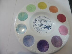 PEARLY PALLET WATER COLOUR PAINTS IDEAL FOR CARD MAKING