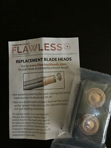 Finishing Touch Flawless Replacement Blade Heads 2 Pack