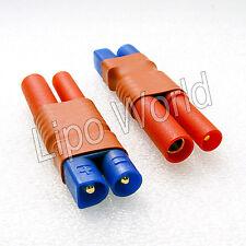 EC3 Stecker auf 4mm HXT Buchse Hochvoltstecker Adapter Lade Kabel LiPo Akku