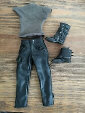 1/6 scale Hot Toys Terminator Salvation Marcus Wright Clothes Boots Harness