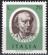 Italy Famous Archetecture Brunelleschi 1977 stamp MNH