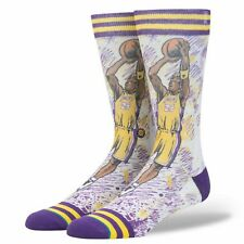 STANCE 548 TF Kobe Bryant Lakers NBA Legends Crew Socks Men's Large 9-12