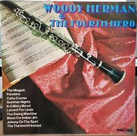 Woody Herman & The Fourth Herd - 1972 jazz LP Record excellent
