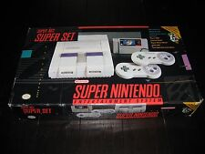 SNES Super Nintendo Entertainment System Console Classic in Original Box