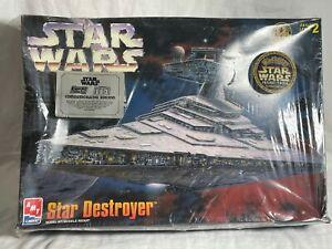 AMT Ertl Star Wars Star Destroyer Model Kit 1997 Sealed
