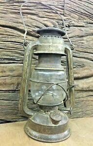OLD ANTIGUE FEUERHAND Baby No.275 Kerosene Oil Lantern ORIGINAL Glass/GERMANY
