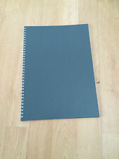 A4 Spiral Bound Notebooks 80 Pages 75gsm White Ruled with margin
