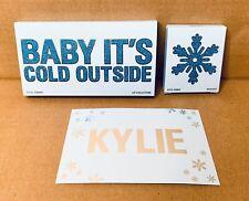 Kylie Cosmetics Limited Edition Baby It's Cold Outside Mini Lip Set & Powder NIB