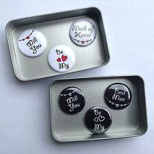 Wedding Bridesmaid Gift Magnets with Gift Tin, Keepsake, Momento. More Options.