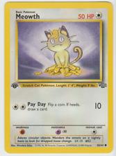 Pokemon Card 1st Edition Common Jungle 1999 Meowth 56/64
