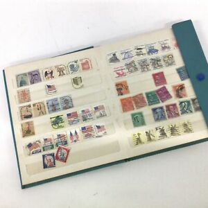 Collectable Stamp Album United States Mixed Collection #563