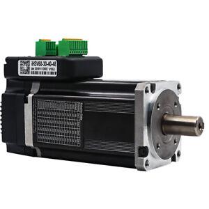 400w 3000rpm Nmea24 1.27NM Integrated Servo Motor 48VDC JMC iHSV60-30-40-48