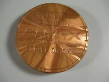 Heavy Copper Paperweight Amx Copper Division