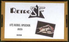 RetroKits Models 1/72 REBEL SPEEDER (RED) Empire Strikes Back Resin Kit