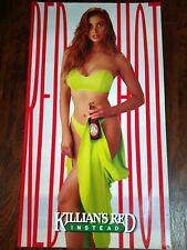Coors Brewing Company Killian's Red 1991 Poster Red Hot