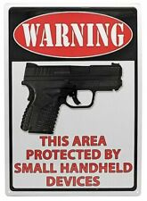 NEW Warning Metal Sign