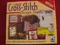Cross-Stitch Design Studio CD by Pcstitch Pre-owned in Excellent Condition