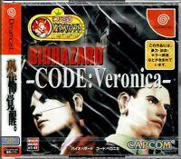 Biohazard Code Veronica Dreamcast Japan Brand New