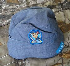 1d5c299d8f307 NWT NICKELODEON blue Paw Patrol CHASE Toddler Boys Chambray Bucket Hat